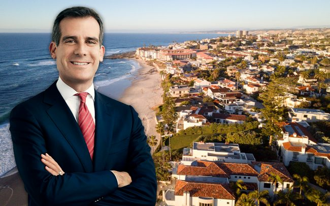 LA Mayor Eric Garcetti (Credit: Wikipedia)