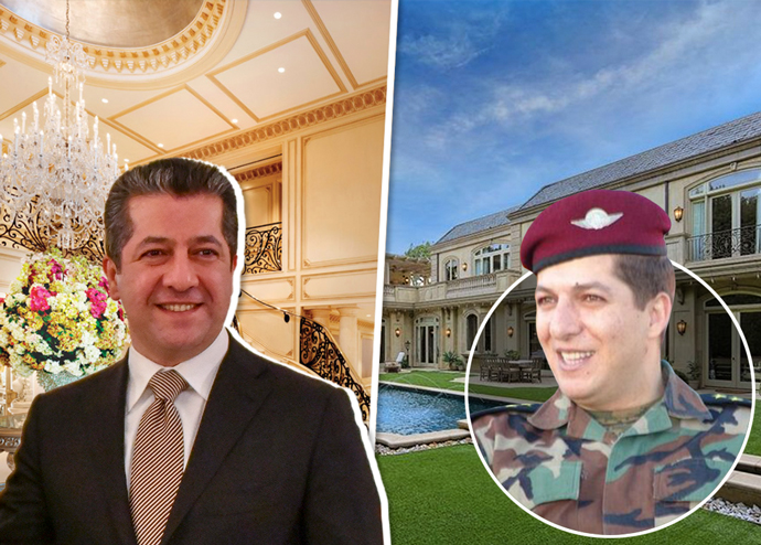 Masrour and Mansour Barzani and the two Beverly Hills properties