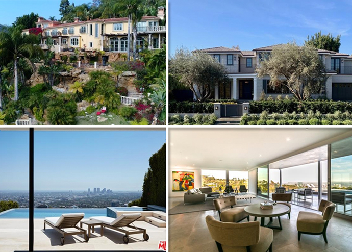 The priciest residential listings last week