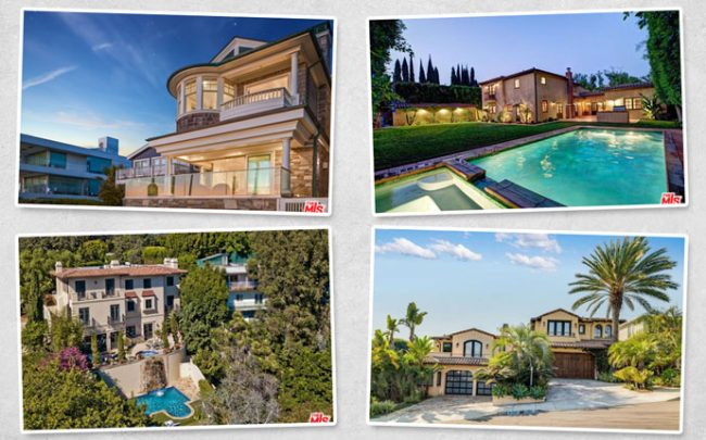 Four of the top residential listings this week