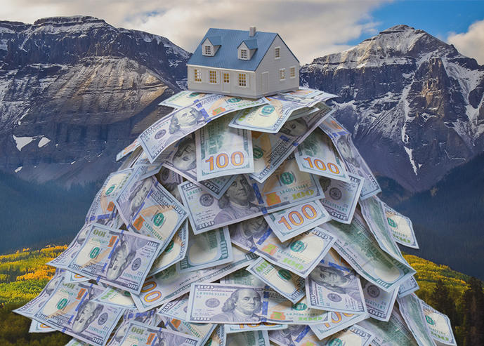 The Mountain States saw the fastest home-price growth of any region (Credit: iStock)