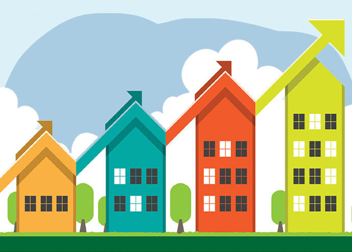 Home prices are on the rise, and homeowners are opting to stay in their homes longer (Credit: iStock)