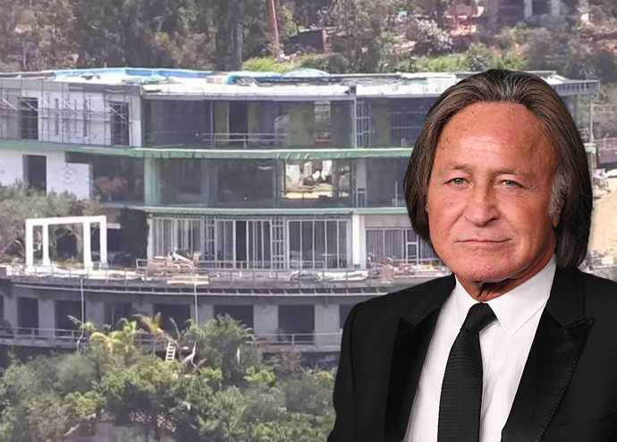 Hadid and the home (Credit: Getty Images)