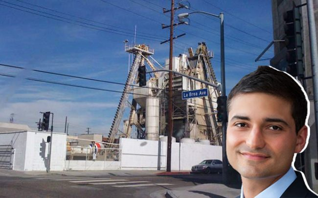 Jason Illoulian and the Cemex plant