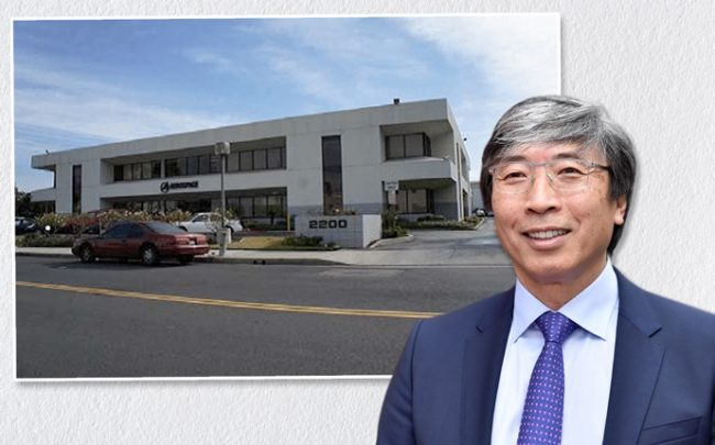 Soon-Shiong beside his latest El Segundo buy