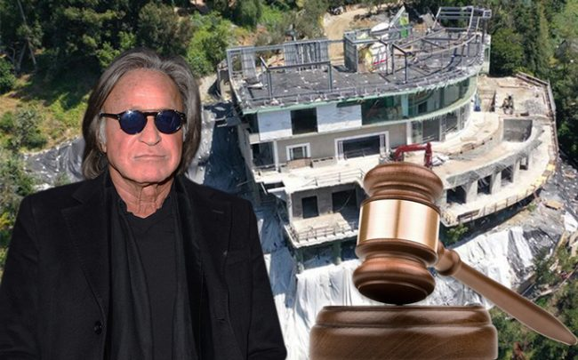 Mohamed Hadid and the mansion (Credit: Getty Images, iStock, and Mega via TMZ)