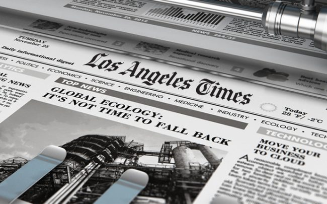 Atlas Capital bought the Los Angeles Times' massive printing plant from a Harridge Capital partnership