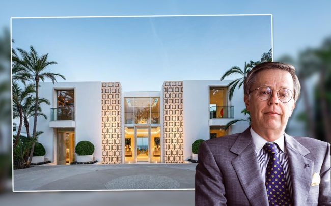 Kent Kresa made $37 million on his Beverly Hills mansion build (Credit: Redfin and Getty Images)