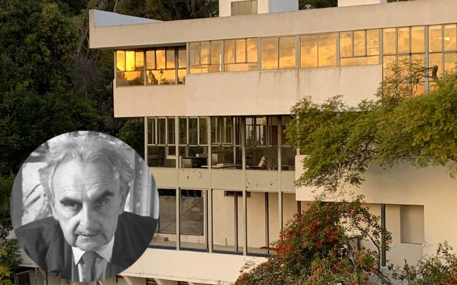 Richard Neutra's Lovell House in Los Feliz is open for events -- and possible offers from buyers.
