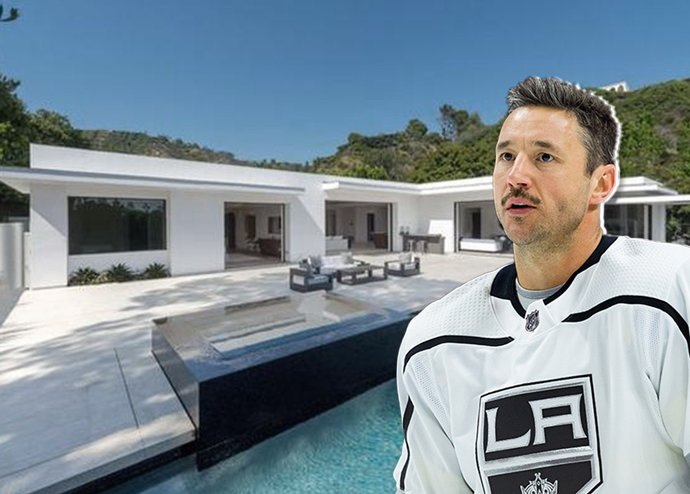 A home for Illya Kovalchuk when he hangs up the skates (Credit: Redfin and Getty Images)