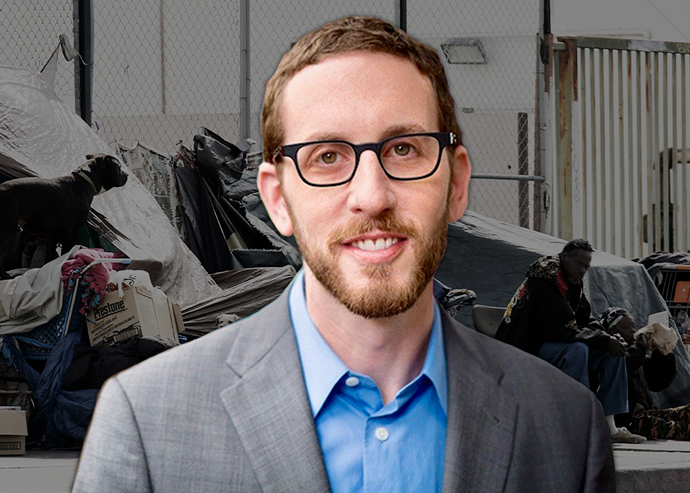 CA State Sen. Scott Wiener pushes for high-density housing to solve homeless crisis (Credit: Getty Images)