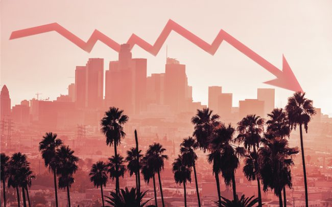 Los Angeles skyline (Credit: iStock)