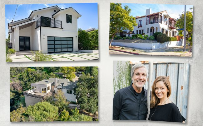 Northeast LA real estate team Courtney Smith and Kurt Wisner are breaking up