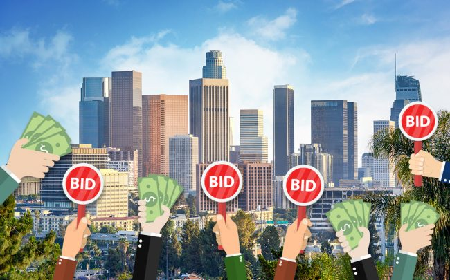 Home bidding wars cool a bit nationwide (Credit: iStock)