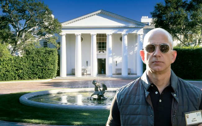 Billionaire Bezos buys estate for $165 million