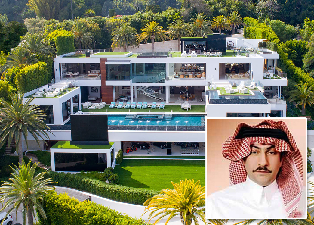 Fawaz Alhokair is reportedly buyer behind Makowsky spec mansion (Credit: Berlyn Photography via Dirt.com)