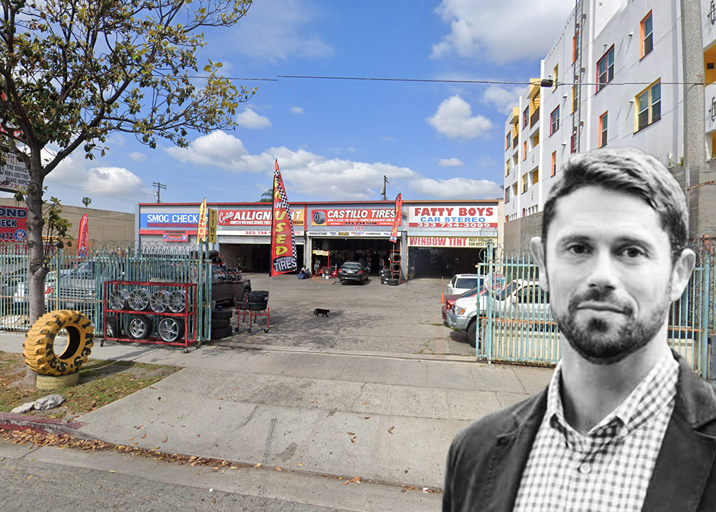 Ben Miller, Fundrise CEO, wants to change this car clinic into an apartment building (Credit: Google Maps)