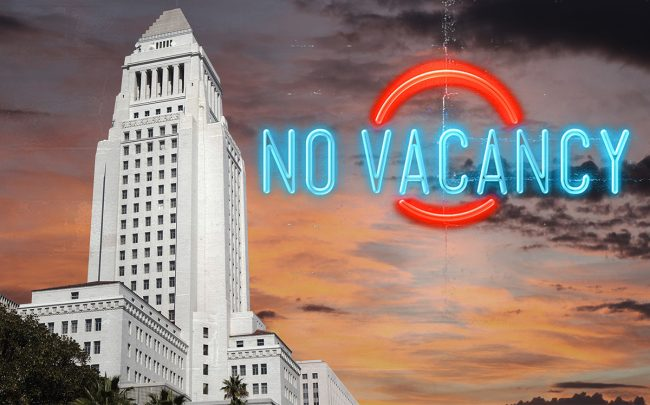 It's harder these days to find a short-term stay in L.A.