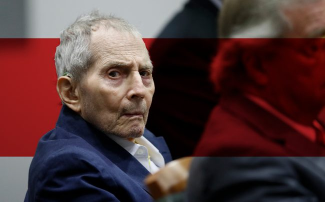 Robert Durst appears in court for during opening statements in his murder trial on March 4, 2020 in Los Angeles (Photo by Etienne Laurent -Pool/Getty Images)