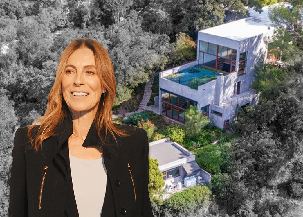 Kathryn Bigelow and the home (Credit: Trisha Leeper/FilmMagic/Getty Images, and Coldwell Banker)