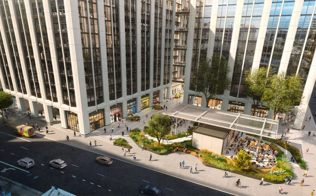 Brookfield finishes first phase of California Market Center remodel