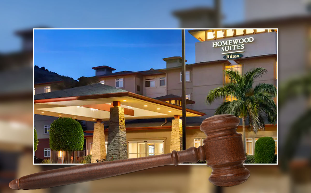 Blackstone-owned Homewood Suites by SF airport (Credit: Hilton and iStock)