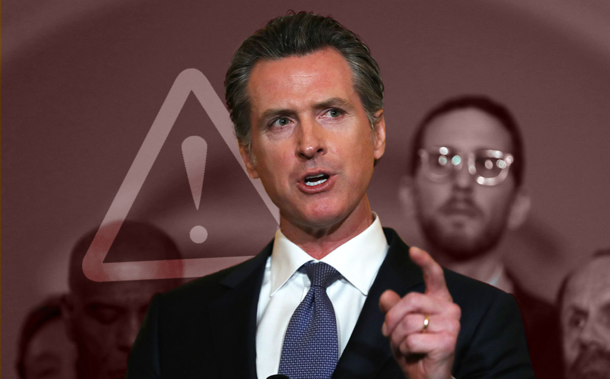 California Gov. Gavin Newsom (Credit: Justin Sullivan/Getty Images)