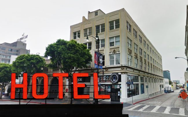 Historic Parker Building could become a hotel (Credit: Google Maps)