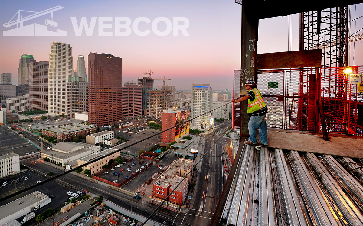 Construction in Los Angeles (Credit: Sam Lafoca/Construction Photography/Avalon/Getty Images)
