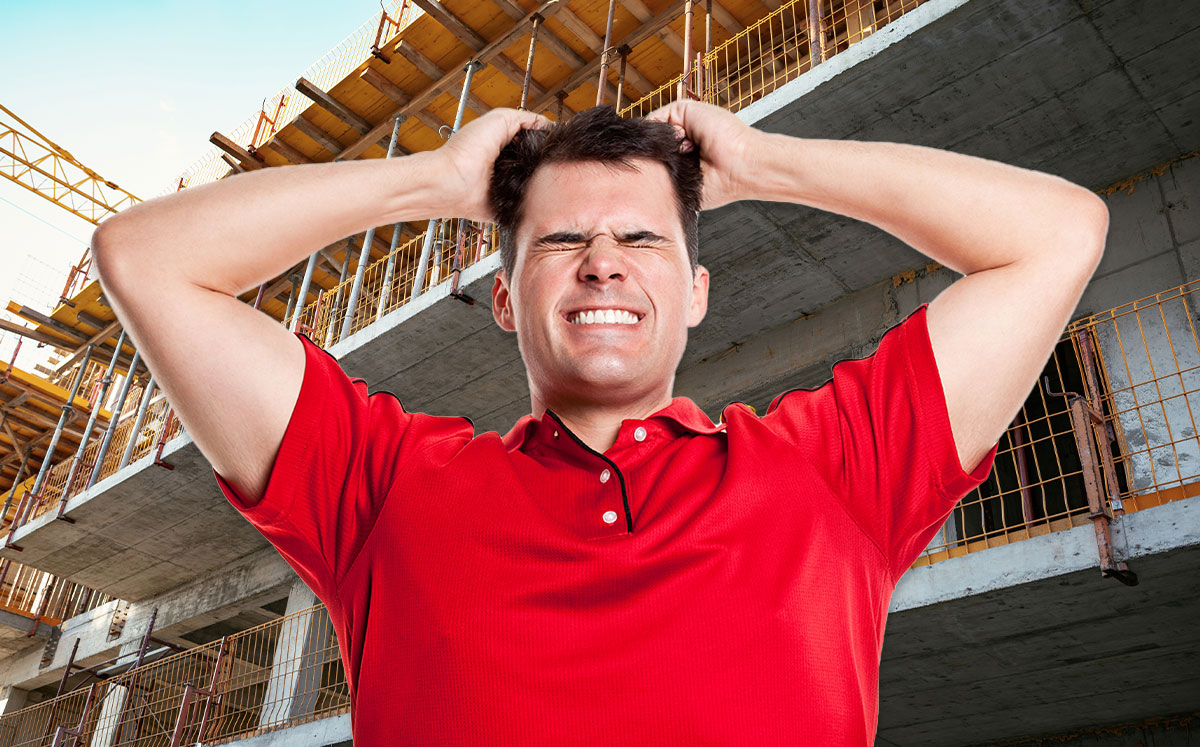 Renters across LA are at their wits end with construction and renovations (Credit: iStock)