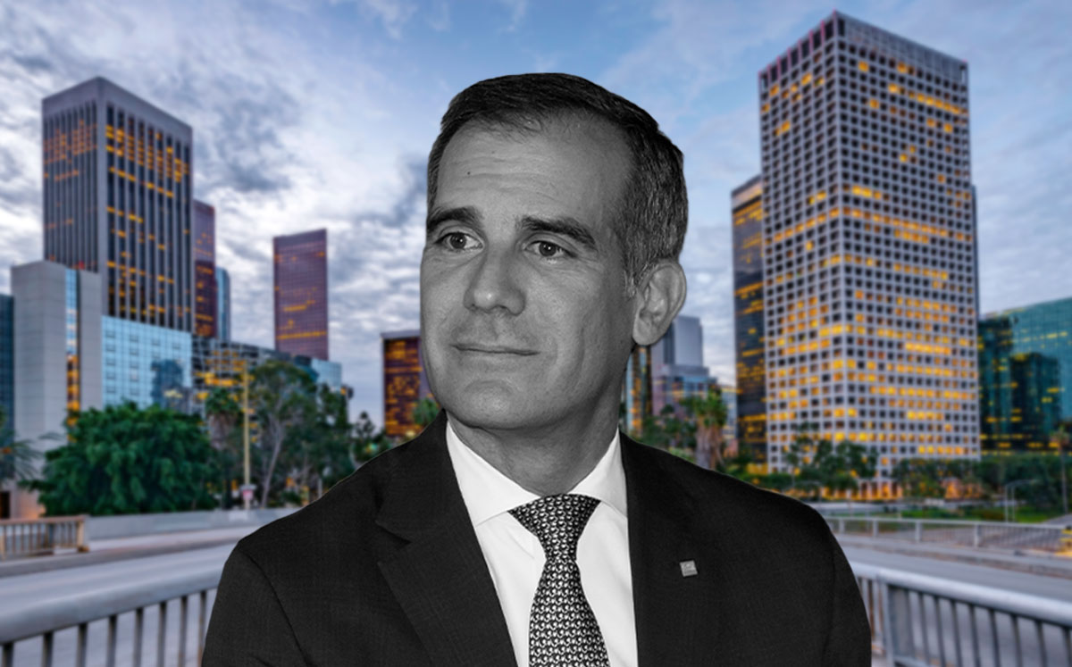 Mayor of Los Angeles, Eric Garcetti (Credit: Ole Jensen/Getty Images)
