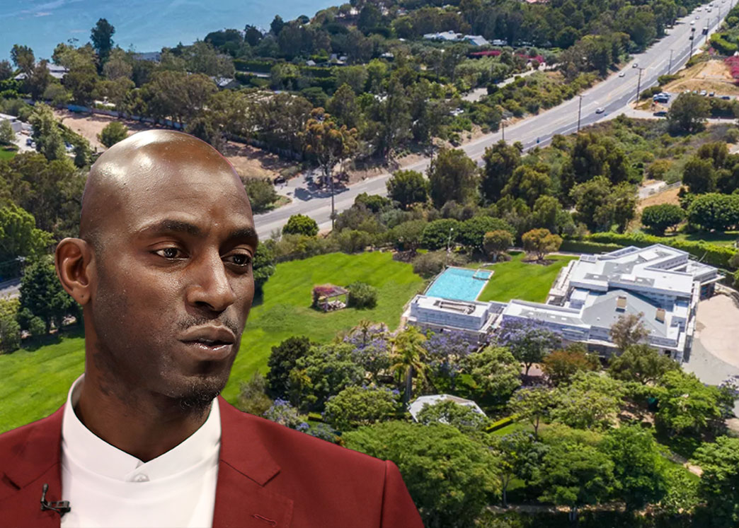 Kevin Garnett and his Malibu property (Credit: Streeter Lecka/Getty Images, and Hilton & Hyland)