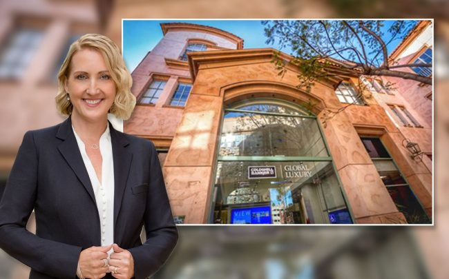 Jamie Duran and Coldwell Bankers Beverly Hills office