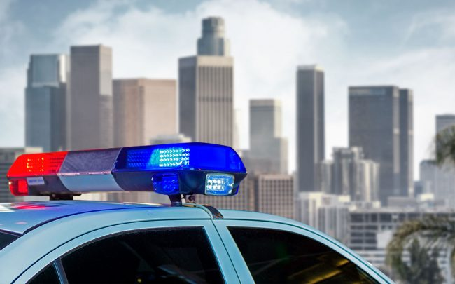 Los Angeles Police received more than twice as many 911 emergency calls involving landlord-tenant disputes in the days after April rent came due.