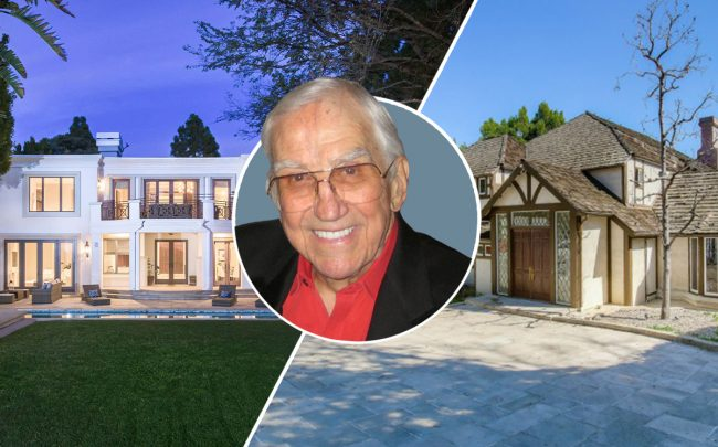 Ed McMahon and his Beverly Hills and Bel Air homes (Credit: Christa Chapman via Flickr, Redfin)