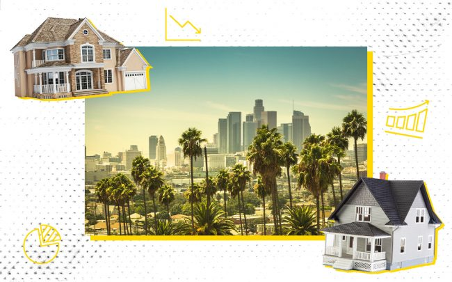 Fewer homes are selling across Southern California, but low supply helped push pricing up across the region.