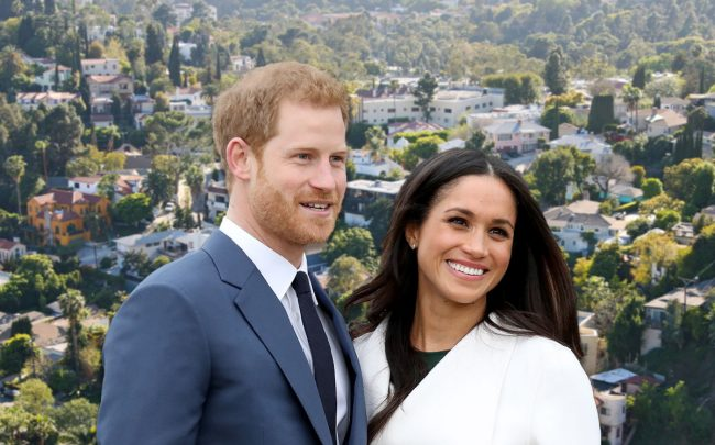 Prince Harry and Meghan Markle (Credit: Chris Jackson/Getty Images)