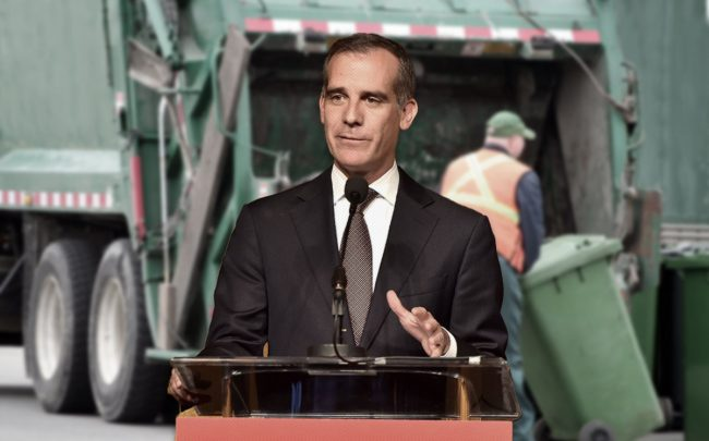 Eric Garcetti (Credit: Gregg DeGuire/Getty Images)