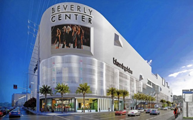 A rendering of the Beverly Center (Credit: Beverly Center via Los Angeles Times)