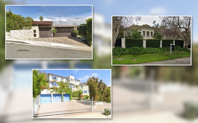 3 of the priciest homes to close last week (Credit: Google Maps)