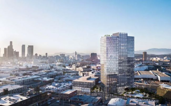 520 Mateo in the Arts District (Credit: Department of City Planning via Curbed)