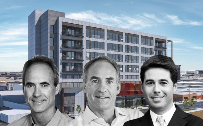 Lowe co-CEO's Mike and Rob Lowe, Related Fund Management's Justin Metz, 2130 Violet Street