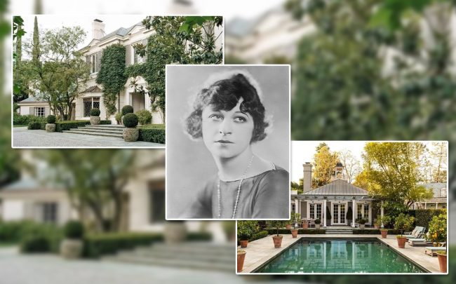 Fanny Brice and the home (Credit: Wikipedia and Zillow)