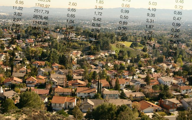 A suburb of Los Angeles (Credit: iStock)