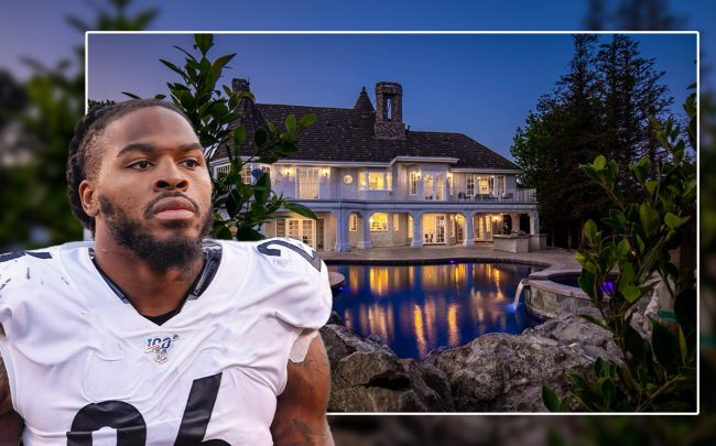 Mark Barron and the property (Credit: Michael Hickey/Getty Images, and Heritage Auctions)