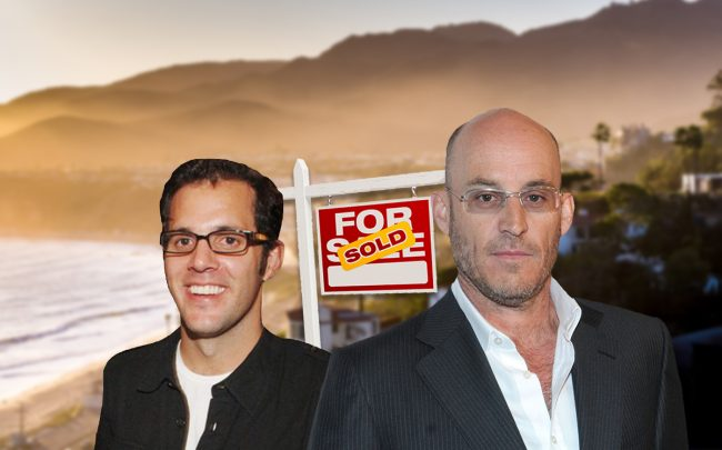 James Perse and Ted Waitt (Credit: George Napolitano/FilmMagic via Getty Images)