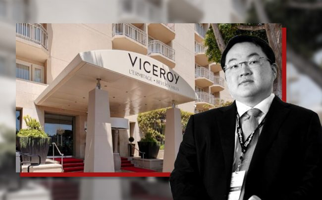 Jho Low, the Viceroy L'Ermitage
