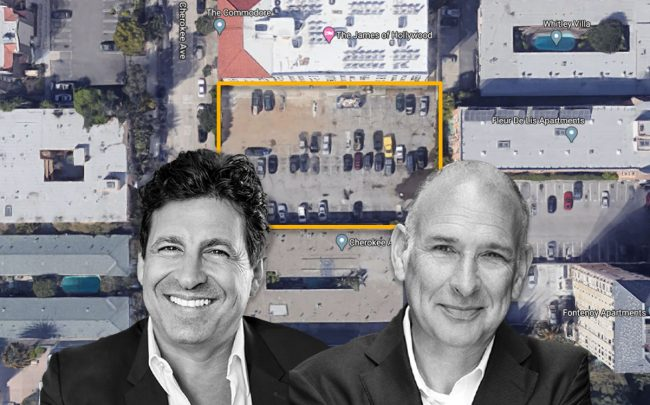 Gidi Cohen and Adrian Goldstein with the property (Credit: Google Maps)