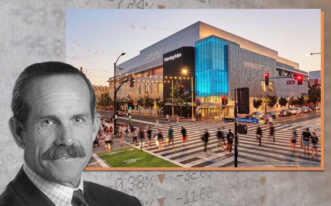 Macerich CEO Thomas O'Hern and Santa Monica Place mall