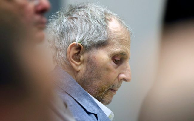 Robert Durst (Photo by Alex Gallardo-Pool/Getty Images)